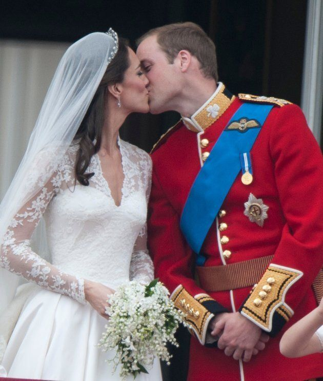 Catherine, Duchess of Cambridge and Prince William, Duke of Cambridge on their wedding day.