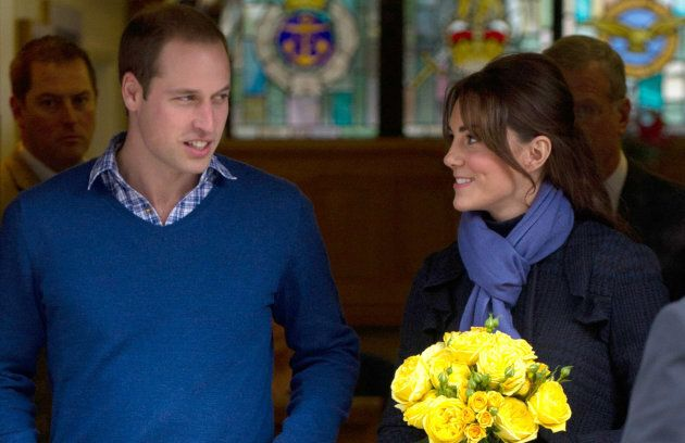 The duke and duchess leave the King Edward VII Hospital after she was treated for acute morning sickness on Dec. 6, 2012 in London.