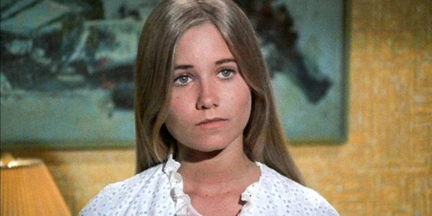LOS ANGELES - SEPTEMBER 29: Maureen McCormick as Marcia Brady in THE BRADY BUNCH episode, 'Pass The Tabu.'...