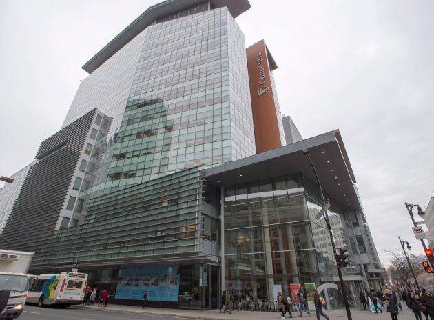 Concordia University's downtown campus is seen Nov. 14, 2017 in