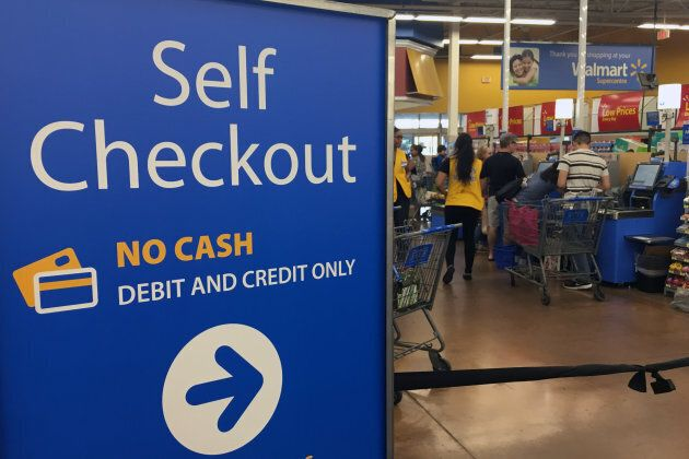 Walmart and other business are starting to roll out, test and implement self-checkout systems to reduce...