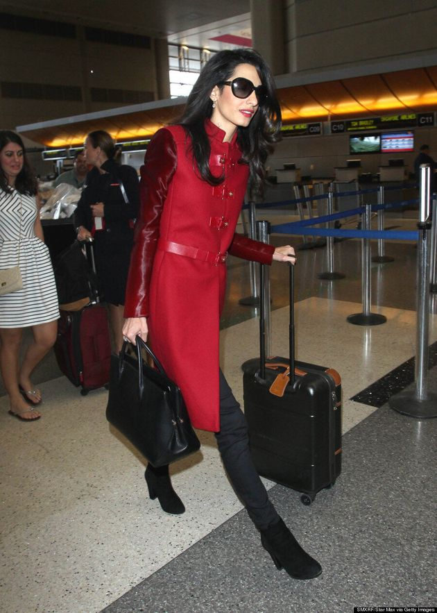 Amal Clooney Doesn't Need Her Husband To Turn
