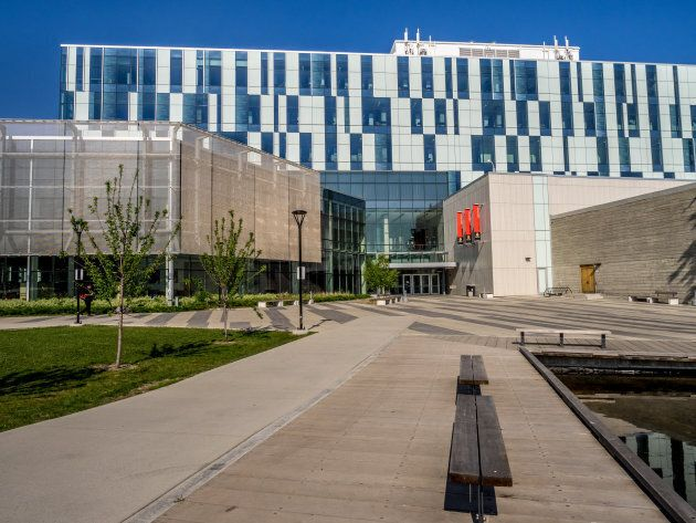 The Taylor Family Digital Library at the University of Calgary is seen on July 11, 2014 in Calgary,