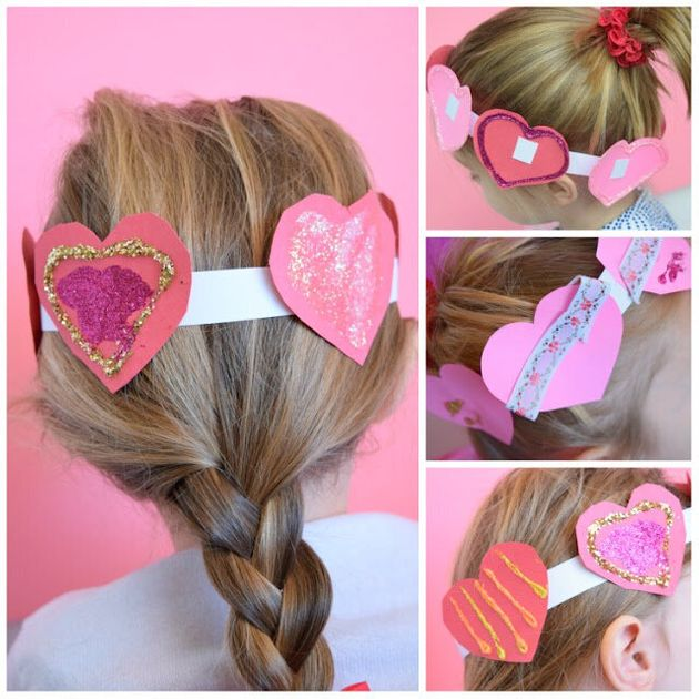 These 20 Adorable Valentine's Day Children's Crafts Make Great