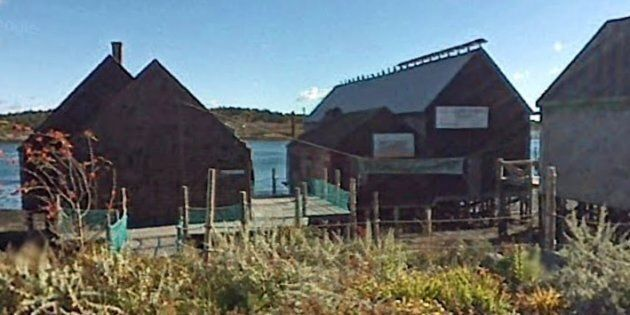 The shed is among five buildings in Lubec, Maine that comprise the last traditional smoked-herring facility...