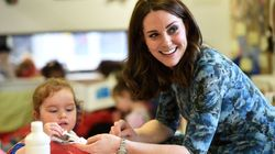 The Duchess Of Cambridge Recycles Maternity Dress For 3rd