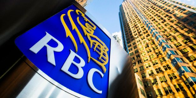 A Royal Bank of Canada (RBC) logo is seen on Bay Street in the heart of the financial district in Toronto, January 22, 2015. RBC has hiked its mortgage rates, a move other banks are likely to follow.