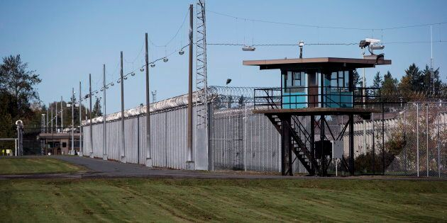 The Matsqui Institution, a medium-security federal men's prison, is seen in Abbotsford, B.C., on Thursday...