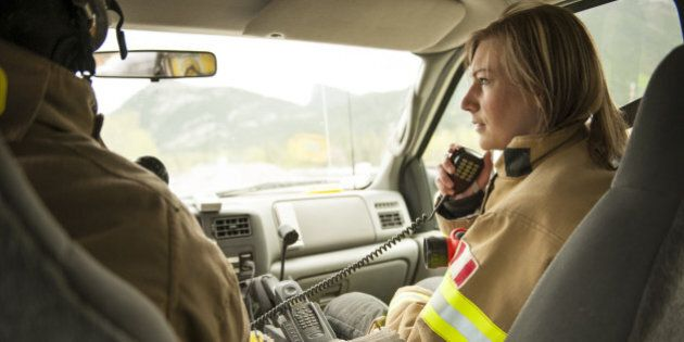 Emergency services workers answer call on