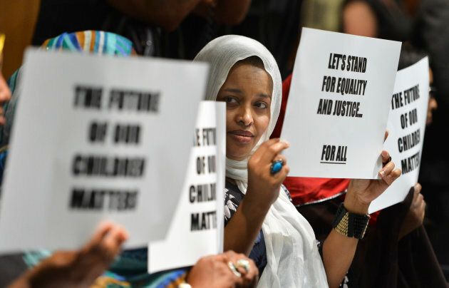 A number of members of the Somali community were at the first meeting to protest the perceived lack of support for Somali children in Toronto.