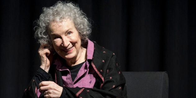 Canadian poet, novelist, literary critic, essayist, inventor, and environmental activist Margaret Atwood attends Noir In Festival on Dec. 6, 2017 in Milan, Italy.