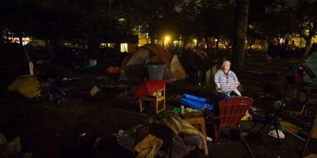 Oppenheimer Park Homeless Camp: Court Deadline Passes But Tents Remain