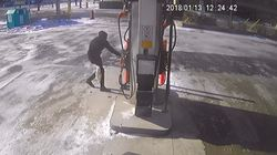 Video Shows Suspect Trying To Blow Up Gas Station In Broad