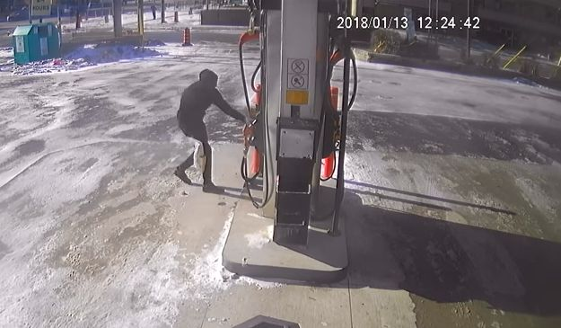 Video From Toronto Gas Station Shows Attempted Arson In Broad