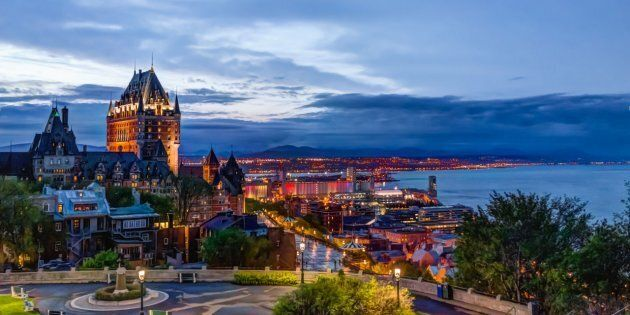Quebec City has come out on top in a new ranking of Canada's best cities for