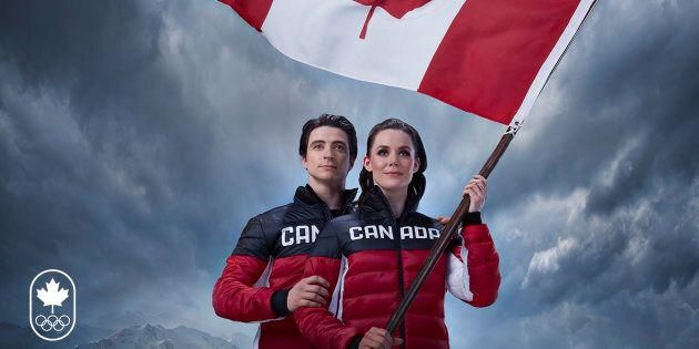 Tessa Virtue, Scott Moir To Carry Canadian Flag At 2018 PyeongChang
