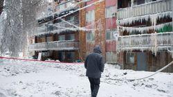 Dozens Homeless After Apartment Building Fire Near