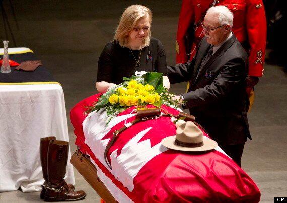 A Final Farewell For Const. David Wynn