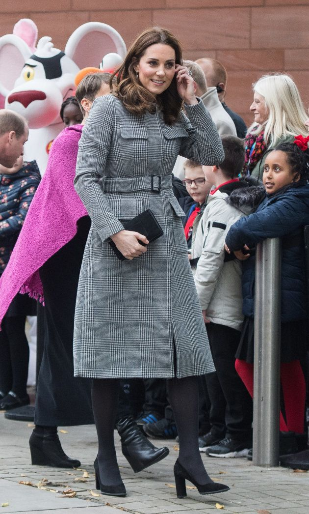 Catherine, Duchess of Cambridge attends the Children's Global Media Summit at Manchester Central Convention...