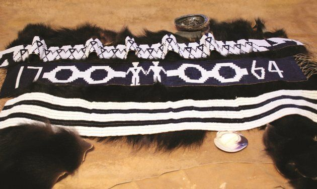 1764 Treaty at Niagra Wampum