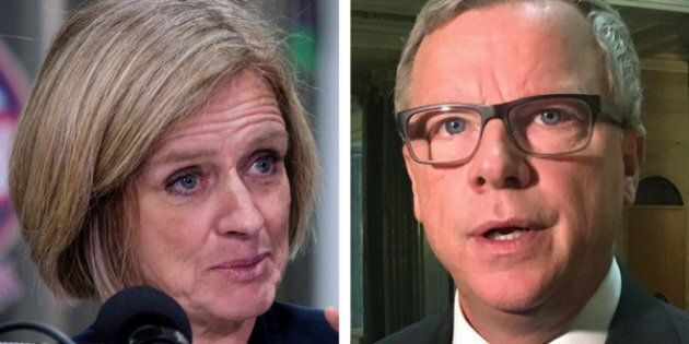 Rachel Notley Says Next Saskatchewan Premier Can Learn From Alberta. Brad Wall Fires
