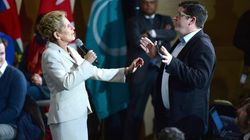 Heckler Accuses Ontario Premier Of 'Destroying The Canadian