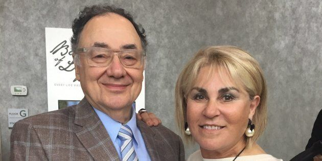 Barry and Honey Sherman are shown in a handout photo from the United Jewish