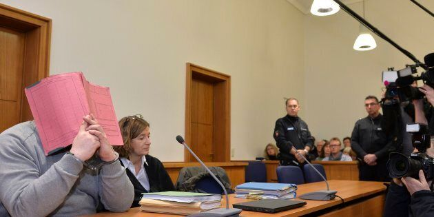 In this Feb. 26, 2015 file photo, former nurse Niels Hoegel, accused of multiple murder and attempted...