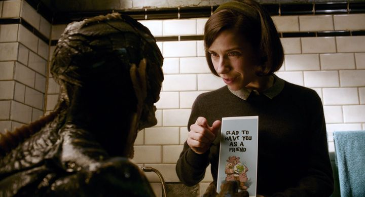 "Doug Jones and Sally Hawkins in ""The Shape of Water."""