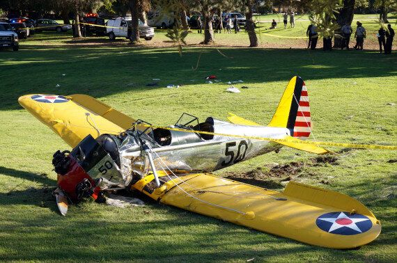 Harrison Ford Hospitalized After Plane Crashes On Golf