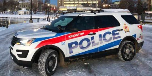 A Kingston Police cruiser is seen in this undated photo. Police say a 46-year-old man faces charges after...