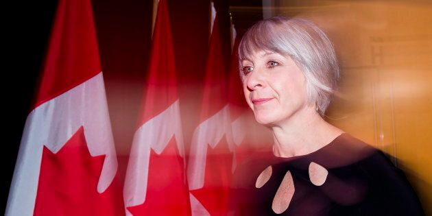 Employment Minister Patty Hajdu arrives for the Liberal cabinet retreat in London, Ont., on Jan. 12,