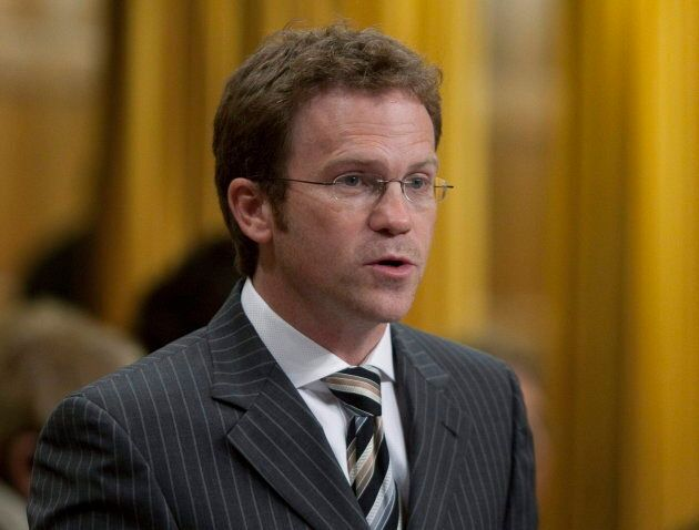 Newfoundland Liberal MP Scott Simms rises in the House of Commons on Parliament Hill in Ottawa on Sept....