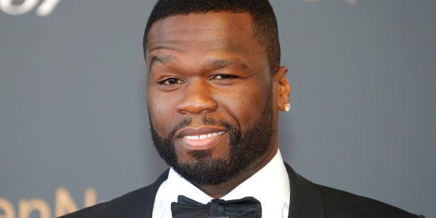 Actor and singer Curtis Jackson