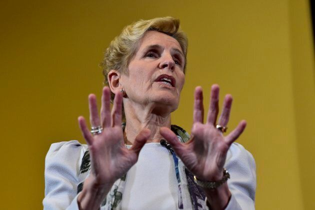 Ontario Premier Kathleen Wynne has told a news conference she won't call an early election ahead of the...