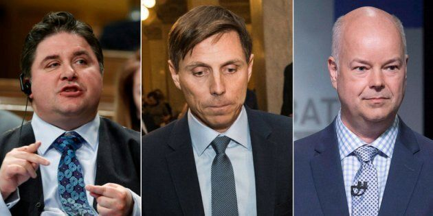Kent Hehr, Patrick Brown, and Jamie Baillie face sexual harassment allegations.