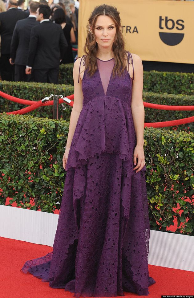 Keira Knightley's 2015 SAG Awards Dress Isn't Your Typical Maternity