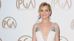Jennifer Lawrence Stuns On Her First Red Carpet In