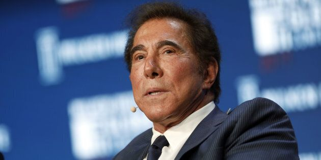 Billionaire Steve Wynn, chairman and chief executive officer of Wynn Resorts Ltd., speaks during the...