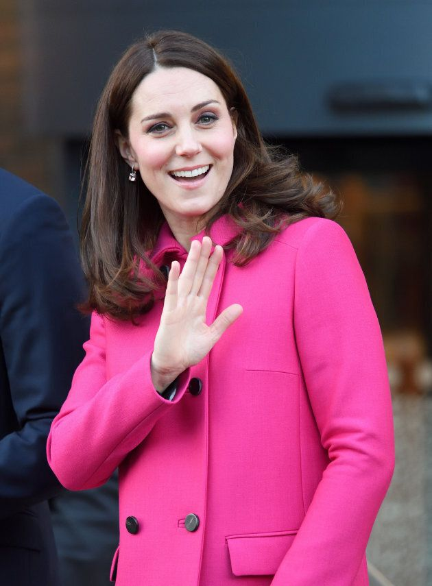 The duchess visits the Science and Health Building at Coventry University on Jan. 16.