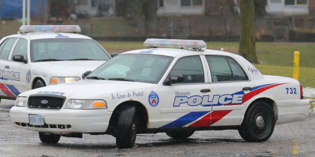 Police cars are seen in Toronto in this Jan.12, 2018 file
