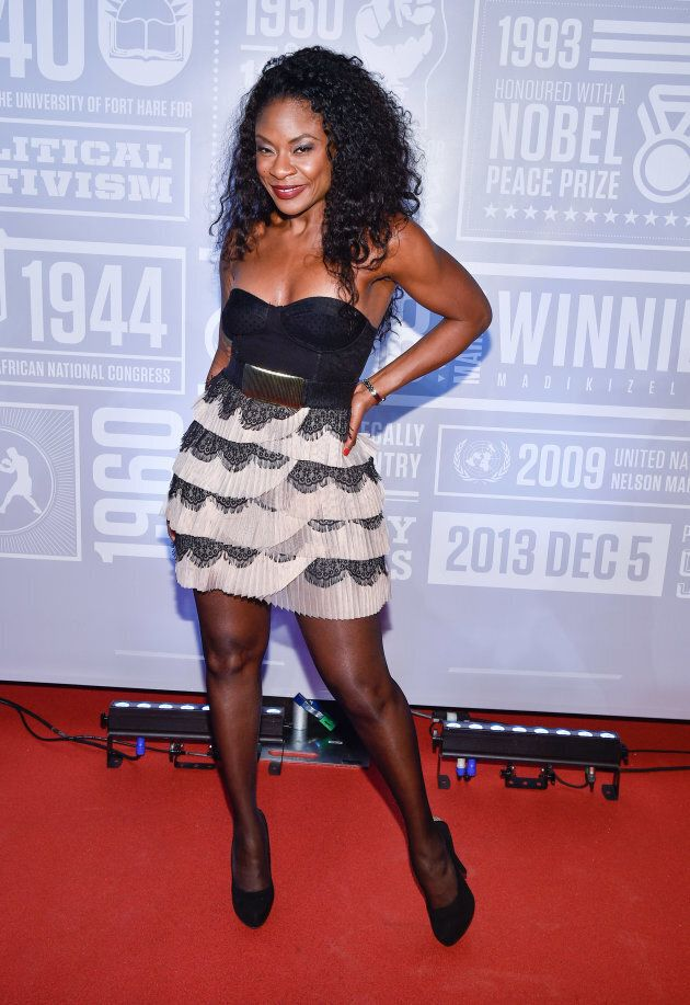 Jully Black attends the 2nd Annual Giant of Africa event on Dec. 5, 2015