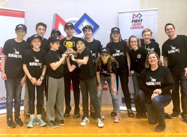 The Glen Ames Senior Public School Lego League robotics