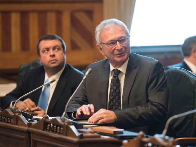 Blaine Higgs, MLA and leader of the Progressive Conservative Party of New Brunswick on Jan. 30,