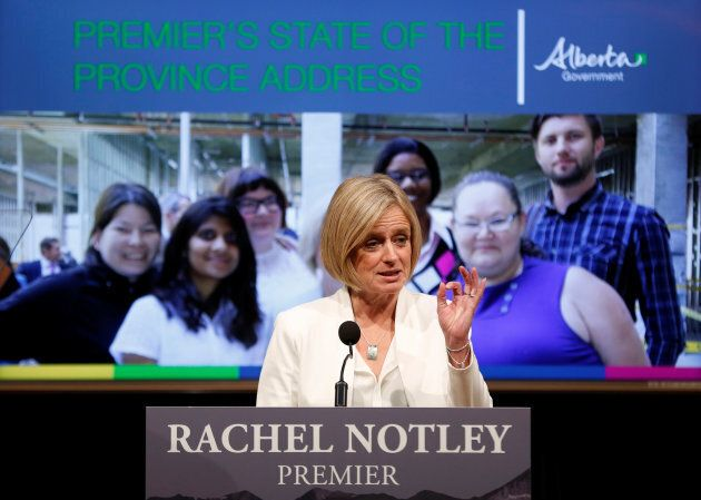 Alberta Premier Rachel Notley called the proposal rash, illegal and