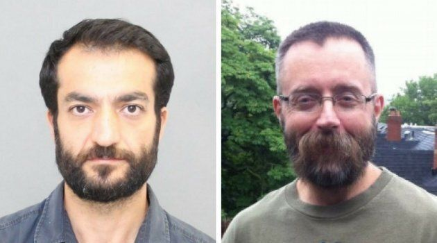 Selim Esen, left, and Andrew Kinsman, right, are seen in police handout