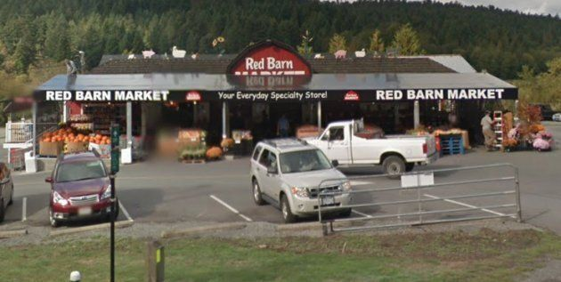 The Red Barn Market on West Saanich