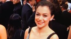 Tatiana Maslany's Awesome SAG Awards Red Carpet
