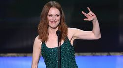 Julianne Moore Wins Big, Shimmers At The SAG