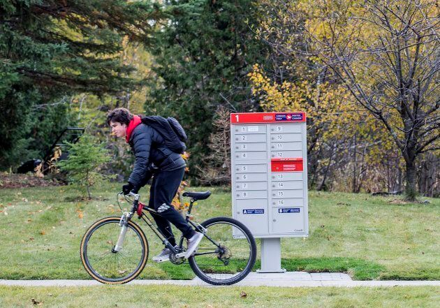 Canada Post canceled the community mailbox